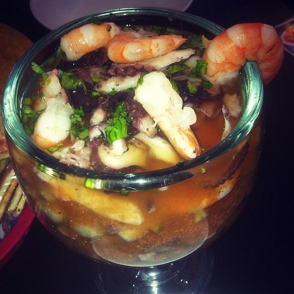 Campechana ( Seafood Cocktail) @ Mariscos Morales Restaurant