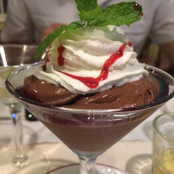 Chocolate Mousse - Raintree Restaurant, St. Augustine, FL