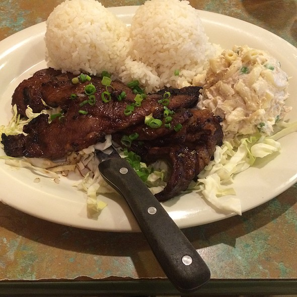 Kalbi Ribs And Rice