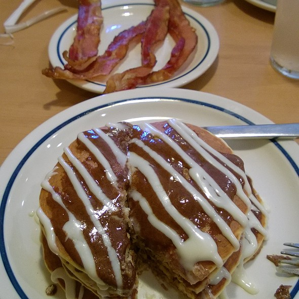 Cinnastack Pancakes @ IHOP Restaurant