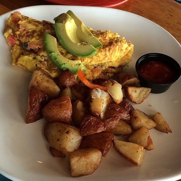 Jamaican Y' Own Omelet @ Buster's Beach House