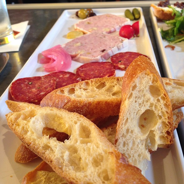 Charcuterie plate @ Cafe Rouge