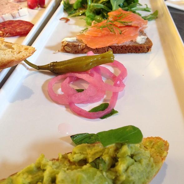 Crostini Sampler @ Cafe Rouge
