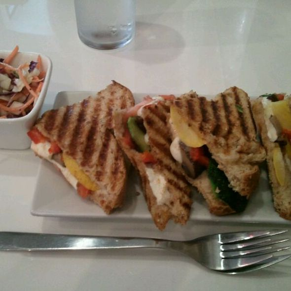 Veggie Sandwich @ The Leisure Club
