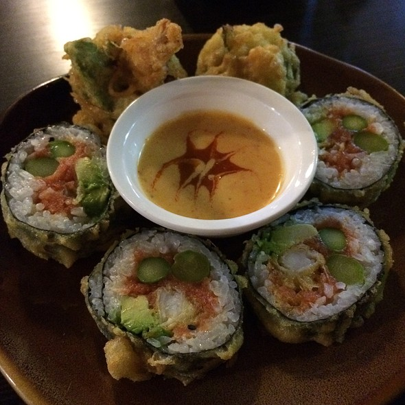 Redzone Sushi Roll With Spicy Dipping Sauce @ Eurasia Fusion Sushi