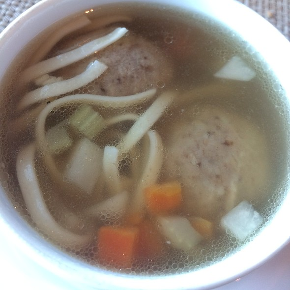 Chicken Matzo Ball @ Norwegian Breakaway