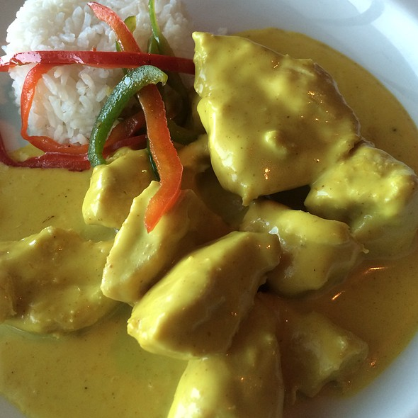 Thai Chicken Curry @ Norwegian Breakaway