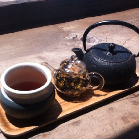 Blood Orange Pu-Erh - Samovar Tea Lounge - Zen Valley, San Francisco, CA