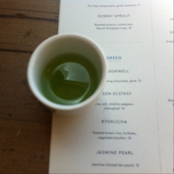 Green Ecstasy - Samovar Tea Lounge - Zen Valley, San Francisco, CA