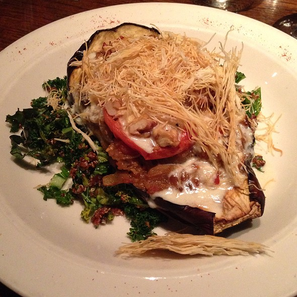 Stuffed Eggplant - Tin Angel, Nashville, TN
