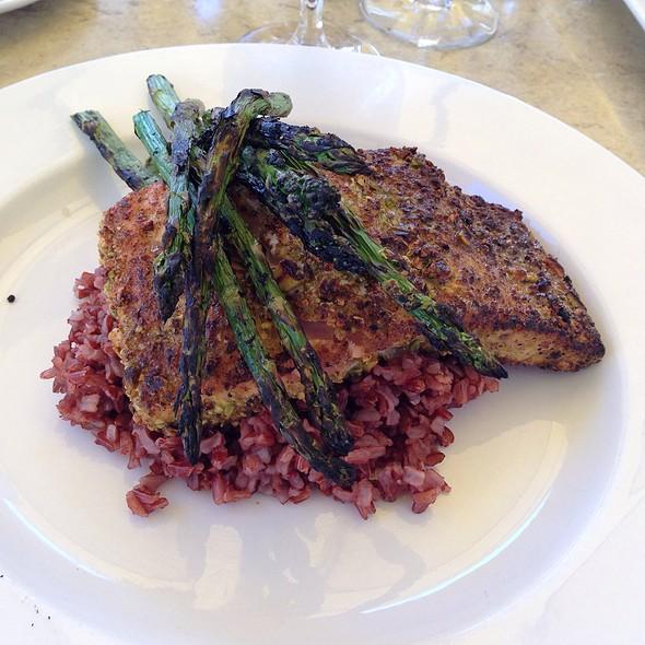 Tavolino menu westborough ma foodspotting for Pistachio crusted fish