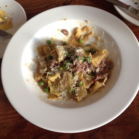 Housemade Pappardelle - Heirloom Cafe, San Francisco, CA