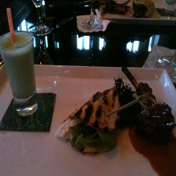 Duo Of Lamb With A Mint Milkshake @ Nectar