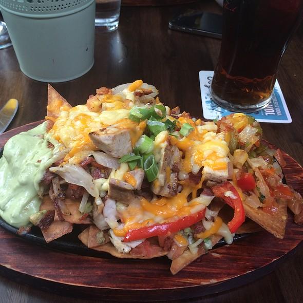 Chicken & Beef Nachos