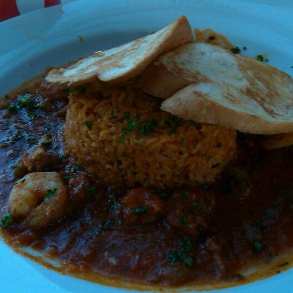 Seafood Jambalaya @ Taqueria Del Sol