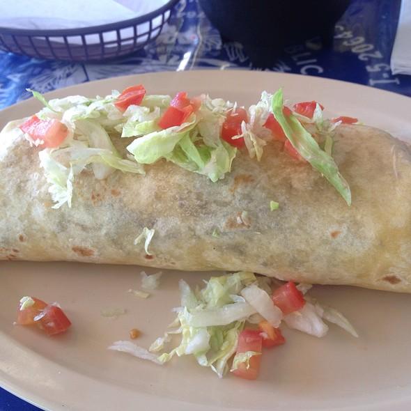 Steak Burrito @ Tita's Pupuseria