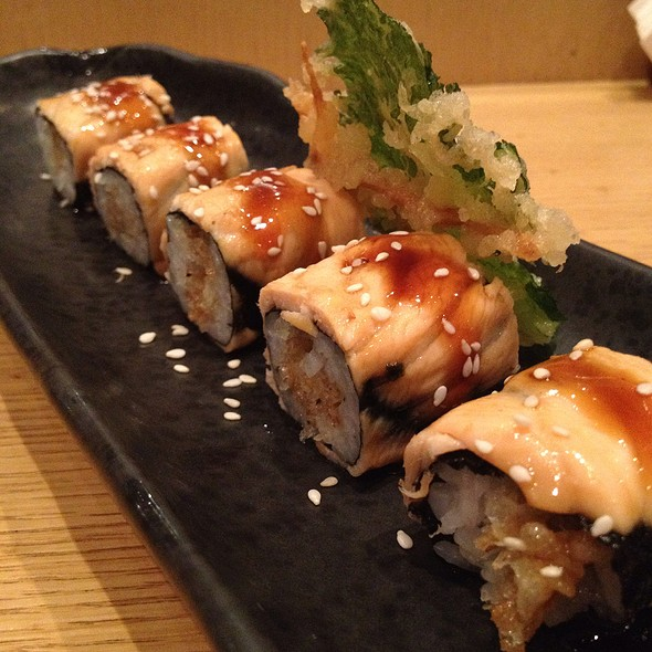 Salmon Teriyaki Roll