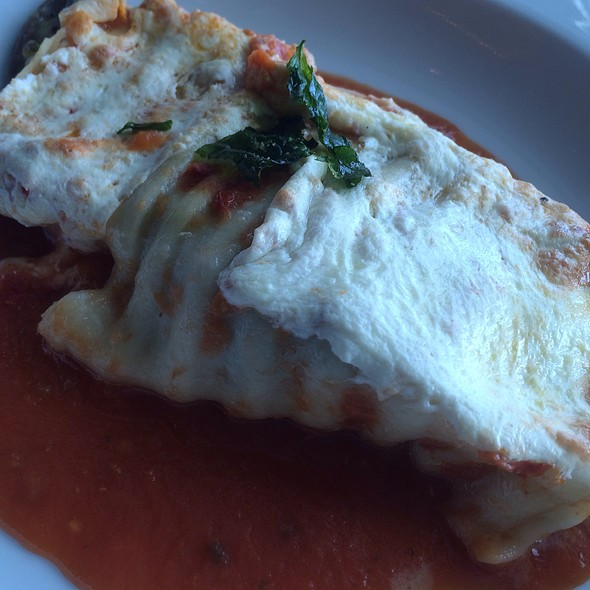 Vegetable Lasagna Roll @ Norwegian Breakaway