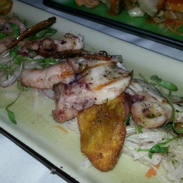 Grilled Octopus - Verve Restaurant, Somerville, NJ