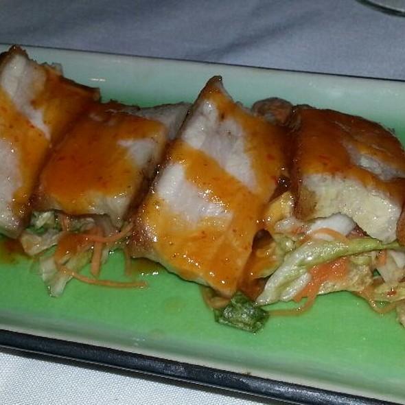 Crispy Pork Belly - Verve Restaurant, Somerville, NJ