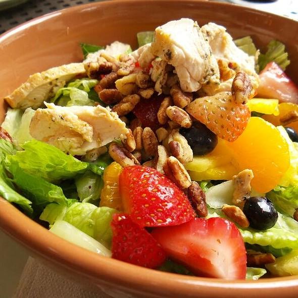 Strawberry Poppyseed And Chicken Salad @ Panera Bread Santa Barbara