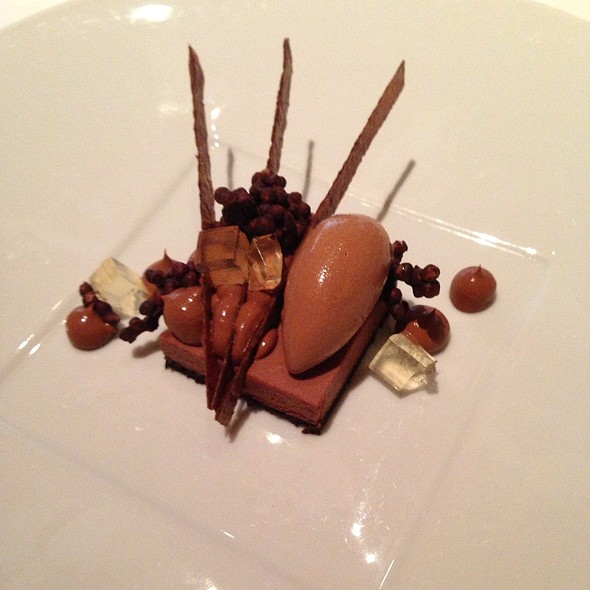 Chocolate Mille Feuille @ Le Bernardin Restaurant
