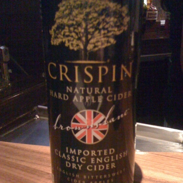 Crispin Original (Cider Beer) @ Fred Bar