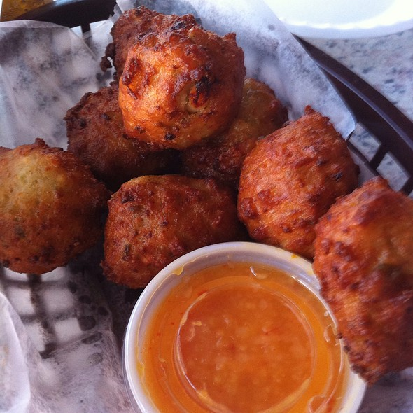Conch Fritters @ The Old Salty Dog