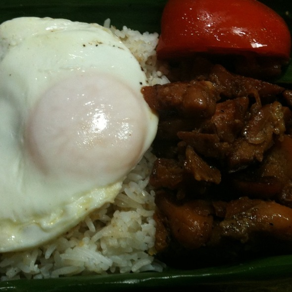 Chicken Tosilog @ The WOW Truck