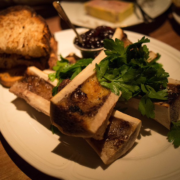 Roasted Bone Marrow - Bavette's, Chicago, IL