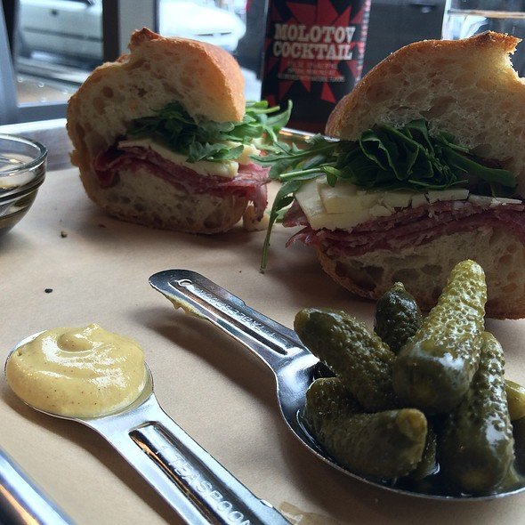 Italian Sandwich @ Cheese & Crack Snack Shop