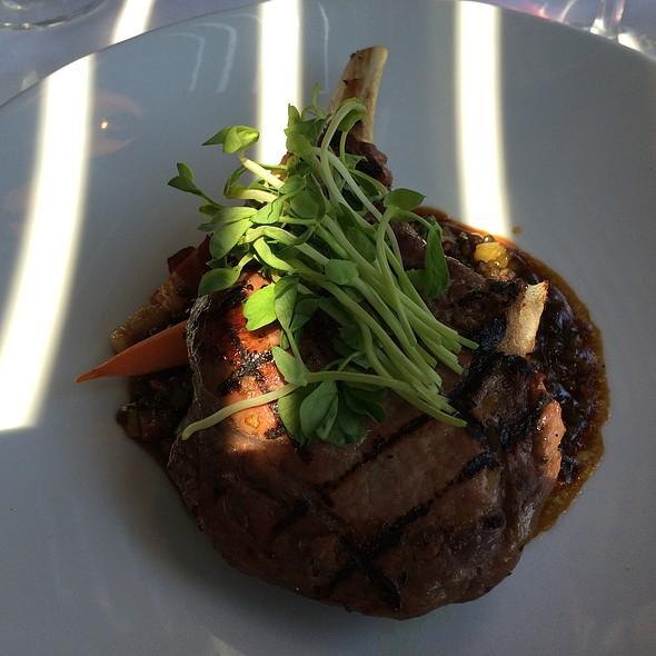 Veal Chop W/Lentals - Restaurant Oban Inn, Niagara-on-the-Lake, ON