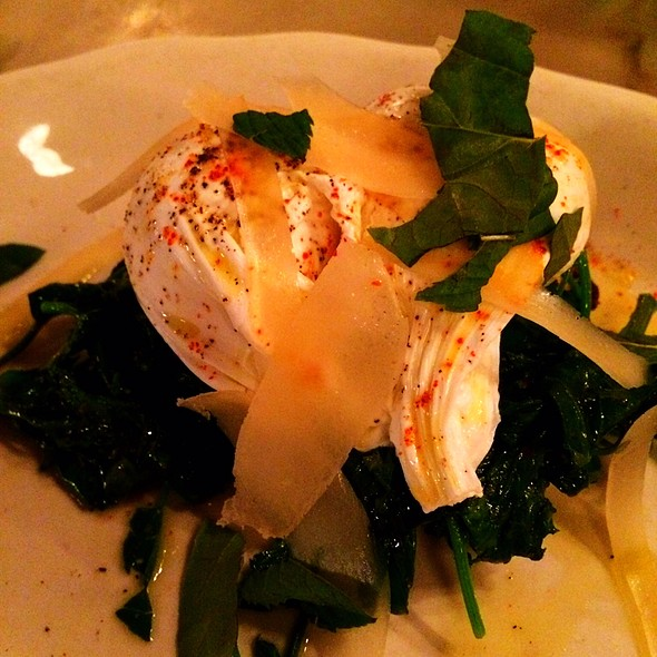 Eggs on Toast @ Marlow & Sons