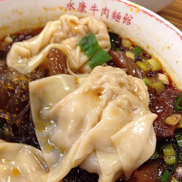 Wonton & Spicy Beef Noodle Soup