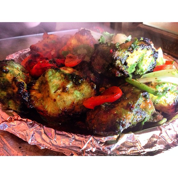 Chicken Tandoor Mixed Grill