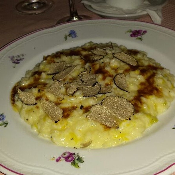 Risotto Tartufo  @ Hotel Florence