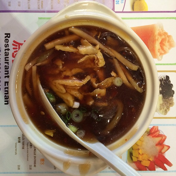 Hot and Sour Soup @ Restaurant Ethan