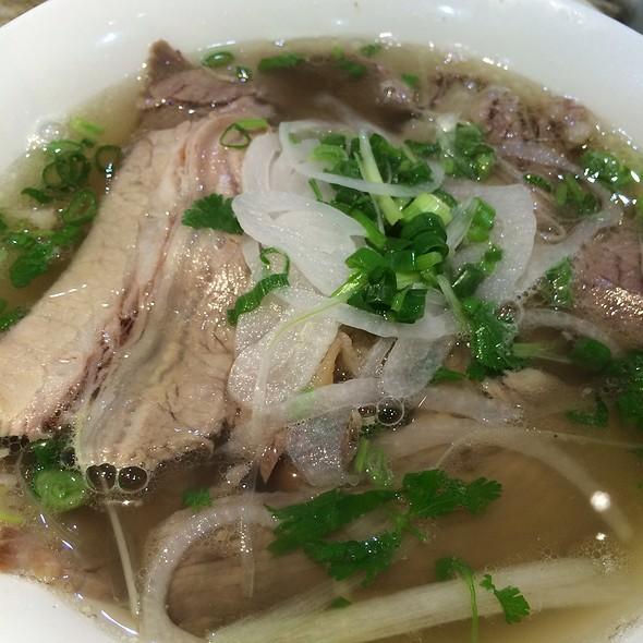 Beef Flank Noodles Soup @ Pho Cali