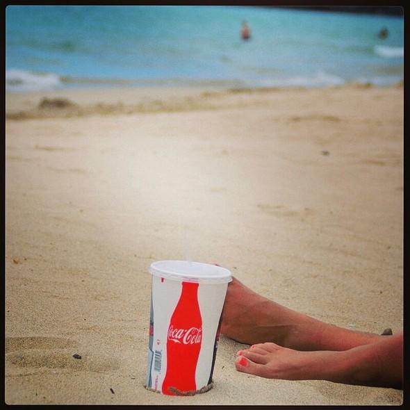Drink @ Hapuna Beach State Park