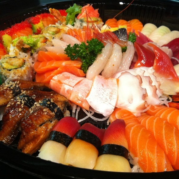 Sushi & Sashimi Party Tray @ Gal's Sushi