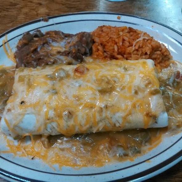 Chicken Enchilada Smothered Burrito @ Sofia's Kitchen