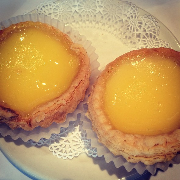 Egg Custard Tarts @ Yank Sing Restaurants