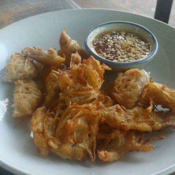 deep fried taro @ maple cafe