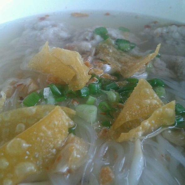 Pork Tom Yum Noodle @ maple cafe