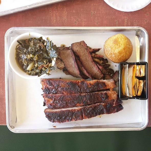 2 Meat Combo @ Smoking Pig BBQ Company, LLC