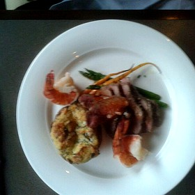 Tri Tip Steak With Shrimp  - Ancaster Mill, Ancaster, ON