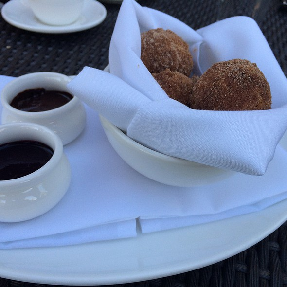 Donut Holes With Chocolate And Blueberry Bourbon - Jack Rabbit Moon - Incline Village, Incline Village, NV