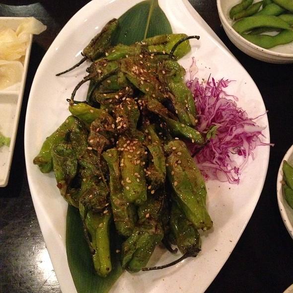 Shishito @ Love Boat Sushi