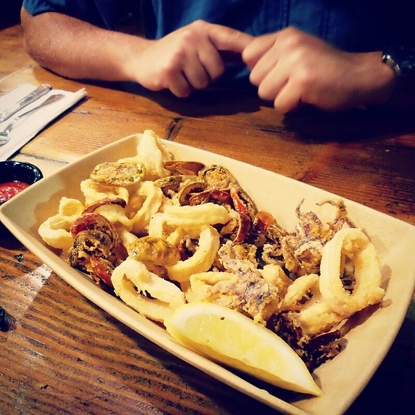 Fried Calamari And Jalapeños @ The Fish Shop Hermosa Beach