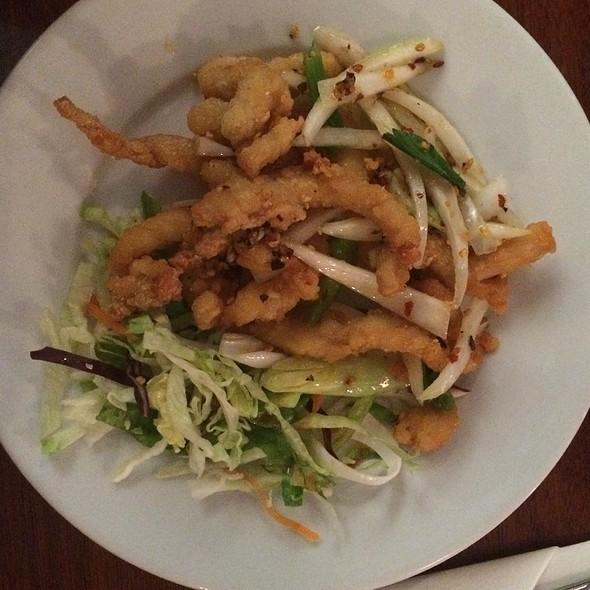 Salt & Chilli Shredded Chicken @ Lotus